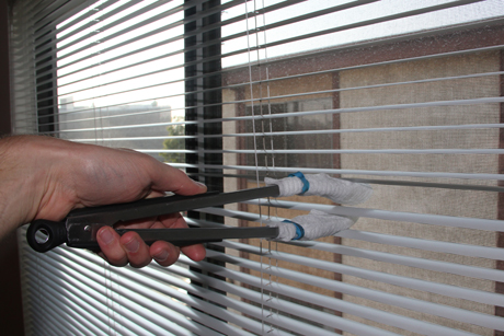 how to put up blinds on upvc windows